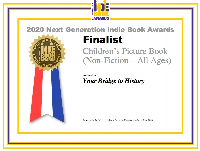 Next Generation Indie 2020 Book Award Finalist