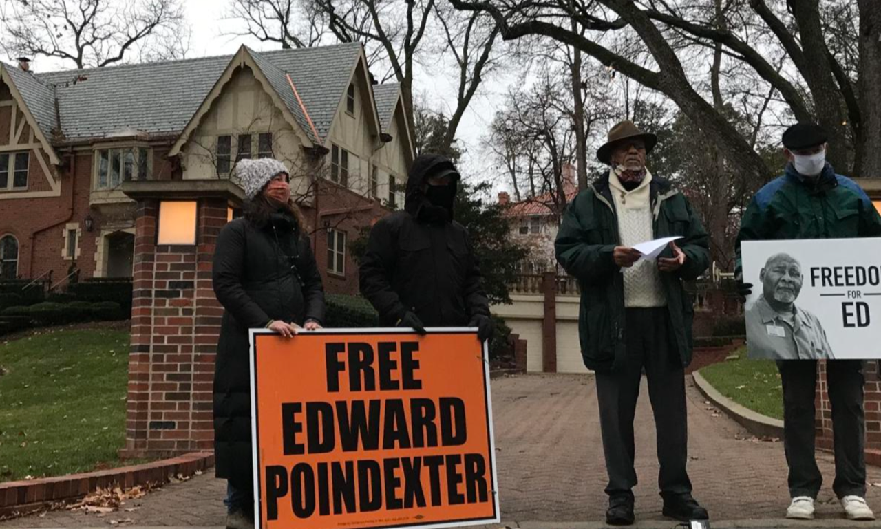 march in front of Gov House for Edward Poindexter