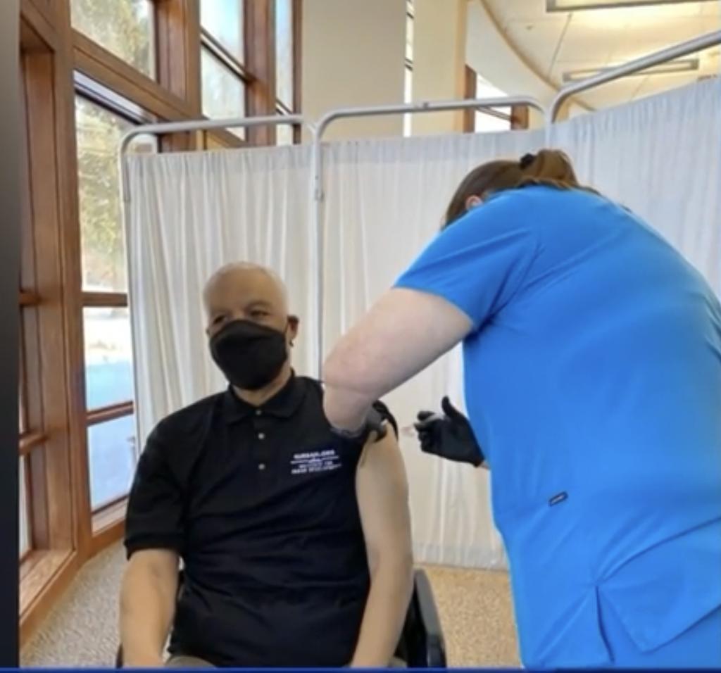 Getting vaccine
